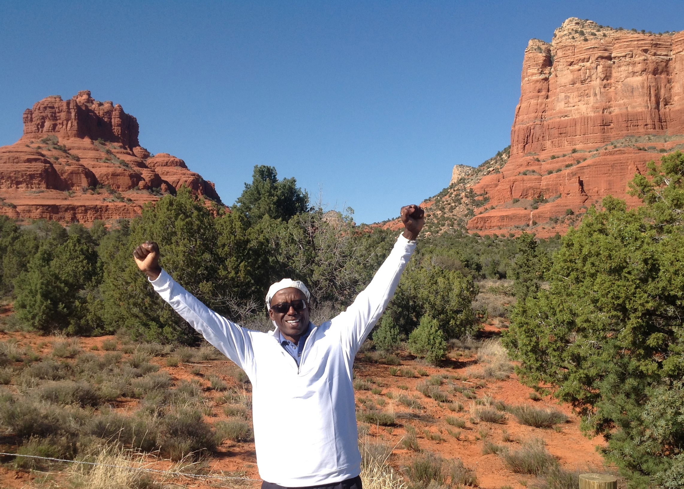 Clarence at Sedona - Bell Rock Vortex