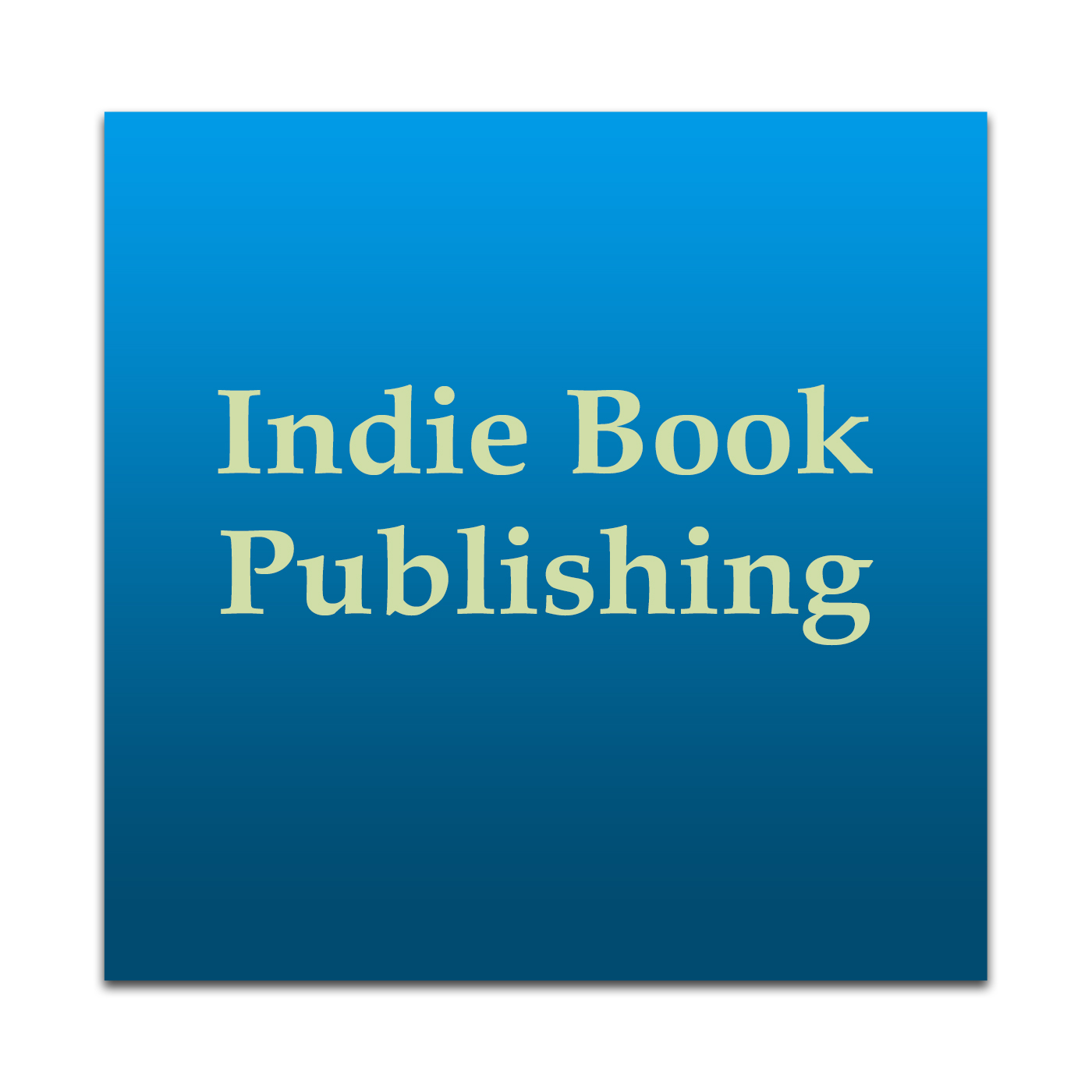 Indie Book Publishing