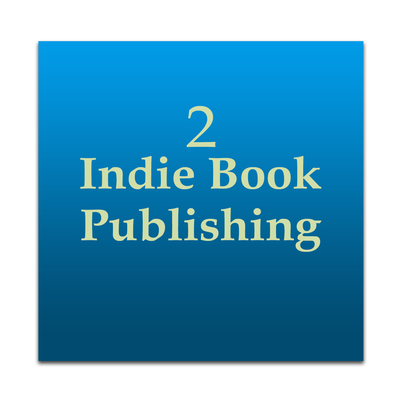 Indie Book Publishing 2