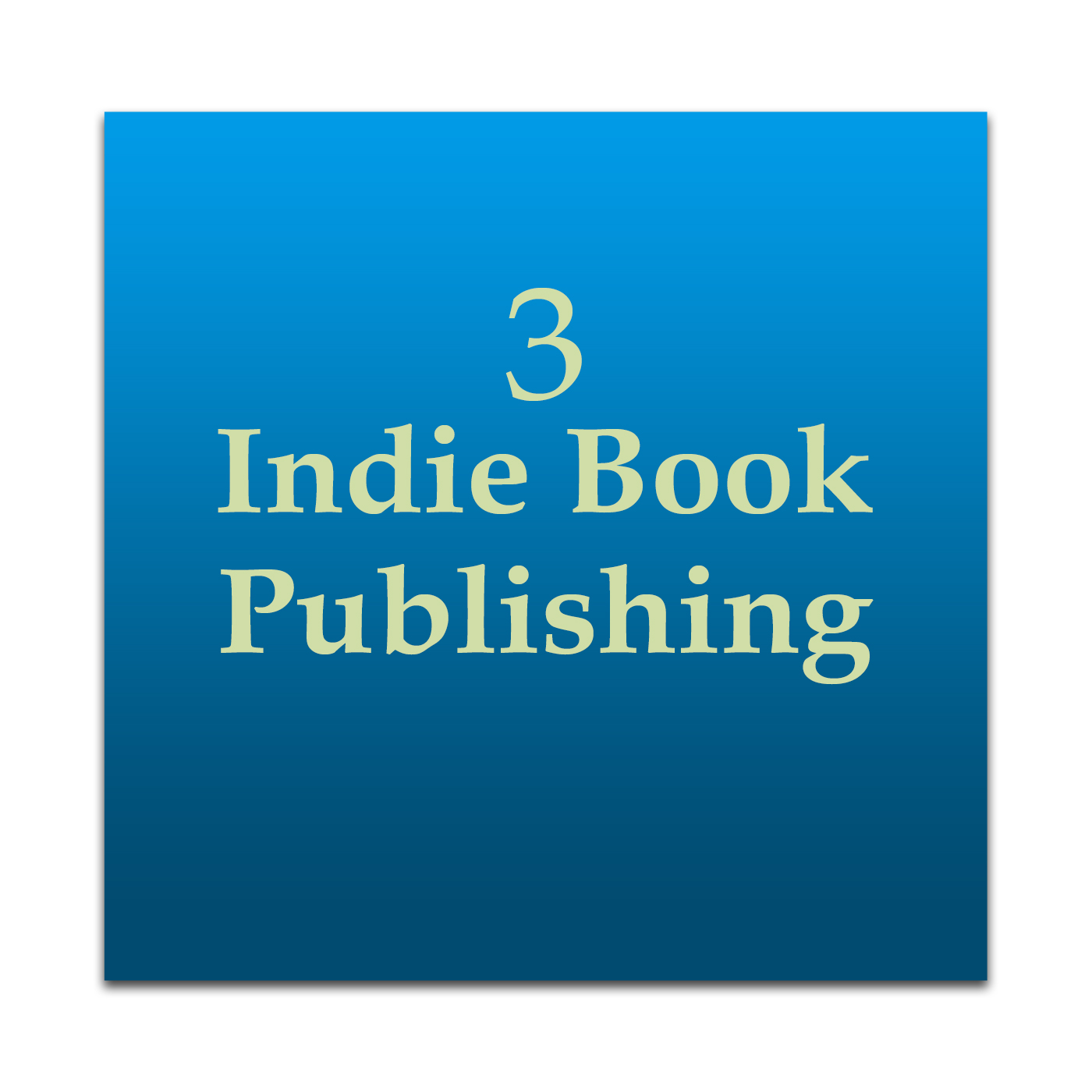 Indie Book Publishing 3